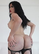 Some hardcore fucking action is in store for everyone. Today we have the sexy and big booty Lorey Richi coming back with a Big Booty Tgirls update. We