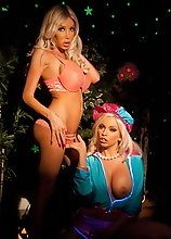 Kimber & Britney toying each other