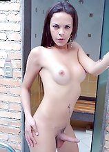 Lisa Lins, from San Paulo, Like to Have Fun by the Pool