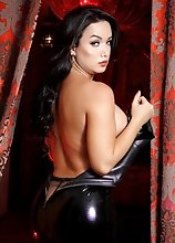 Bianka Likes to Get Freaky in a Hot Latex Dress