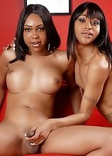 Luscious Sexxxy Jade & Hot Sparkle Playing